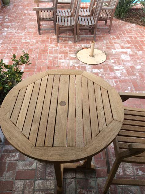 refinishing teak outdoor furniture wilson painting