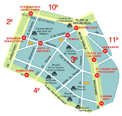 sections of paris neighborhood maps of paris france