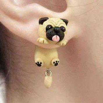 pug polymer clay best clay dogs products on wanelo