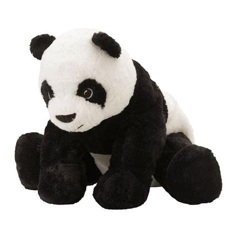 ikea kramig panda boneka kramig peluche ikea