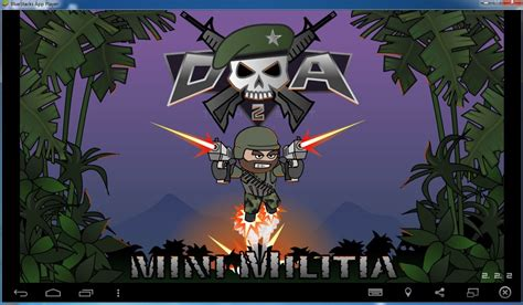 doodle army for free how to play doodle army 2 mini militia on bluestacks