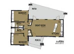 solar home design plans called fern 1 1024 sqft designer thesimplehouse 2 bedroom single story passive solar house