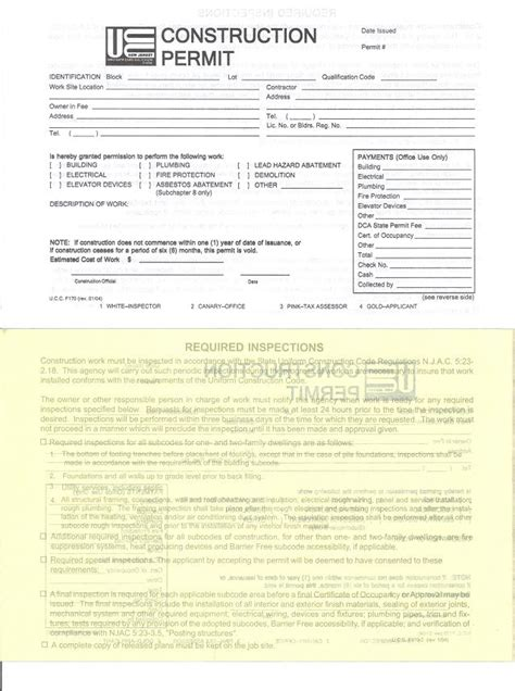 building permit template 100 building permit template free construction estimate