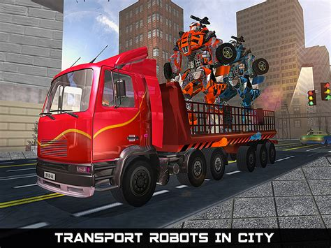 Go Robot Car car robot transport truck android apps on play
