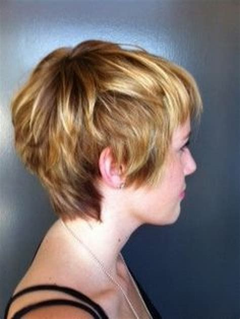 back side of hair cuts pictures of short shaggy hair cuts back and front view
