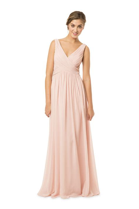 Bridesmaid Dresses bari bc 1570 bridesmaid dress chiffon v back