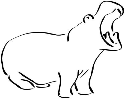 sketch book kid hippo sketch animals h hippopotamus hippo sketch png html