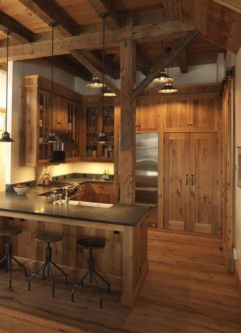 cabin kitchens ideas best 25 rustic cabin kitchens ideas on pinterest log