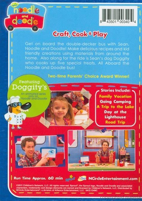 noodle and doodle noodle and doodle all aboard with noodle and doodle dvd