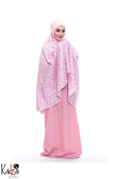 Mukena Motif Bunga Kadijah Hodie telekung mukena solat muslimah labuh dan design terbaru