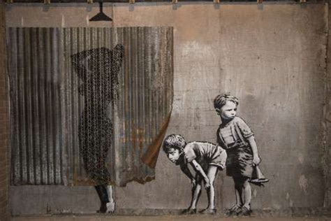banksy painting facts banksy biography art facts britannica