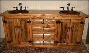 rustic log cabin bathroom vanities log cabin rustic