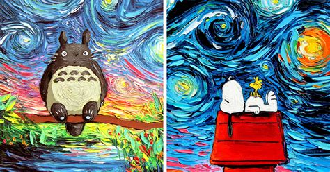 artist s painting gets mistaken for a van gogh so she