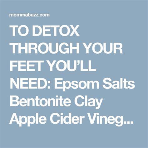 Epsom Salt Clay Foot Detox by Best 25 Foot Detox Ideas On Foot Detox Soak