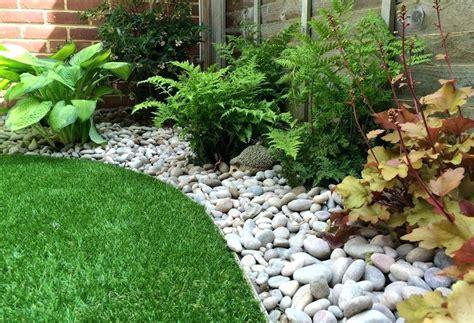 pebble rock garden designs pebbles landscaping design ideas low maintenance garden