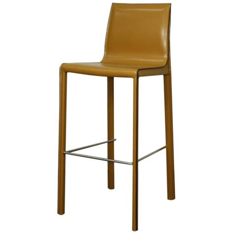 colored leather bar stools gervin recycled leather bar stool set of 2