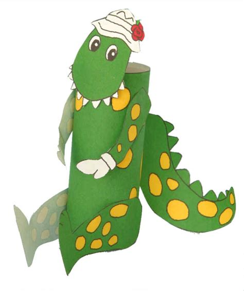 toilet paper song dorothy the dinosaur toilet paper roll craft kids
