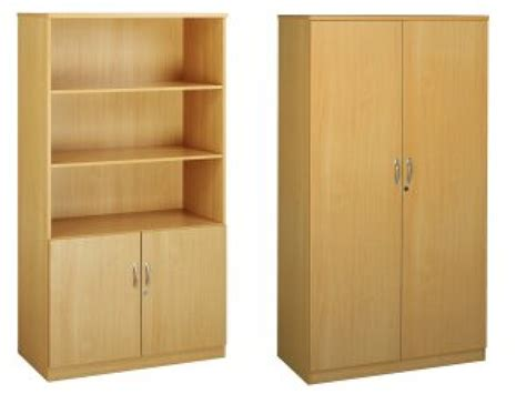 Bookcases with cupboards, antique cupboards office