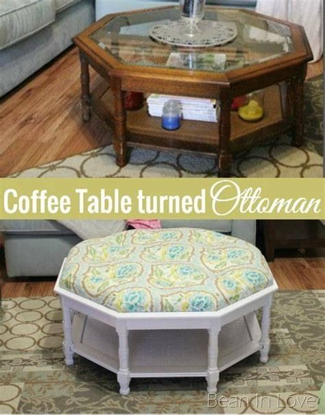 ottoman instead of coffee table coffee table ottoman ottomans and coffee tables on pinterest