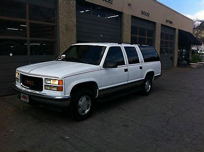 car owners manuals for sale 1999 gmc suburban 2500 engine control 1999 gmc suburban 4x4 cars for sale