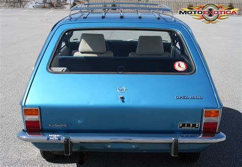 opel ascona wagon budget buy low mile 1971 opel ascona a 1900 wagon german