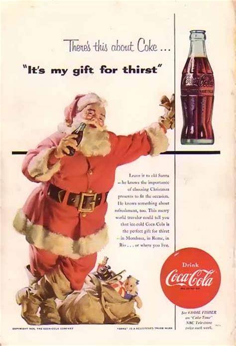 iconic santa claus advertisements     years