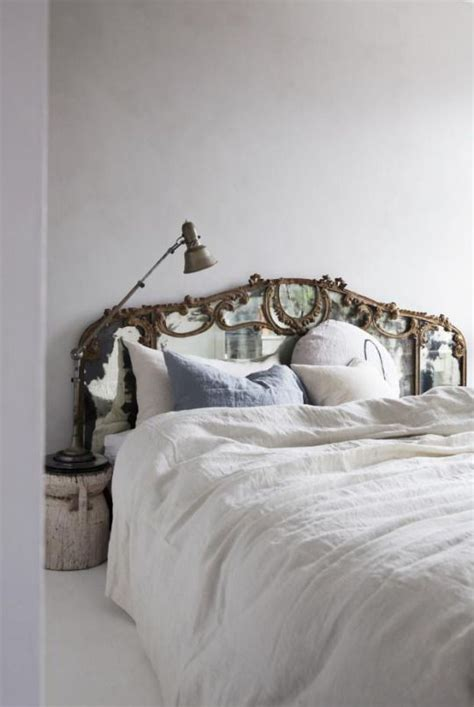 Picture Of Antique Mirror Headboard