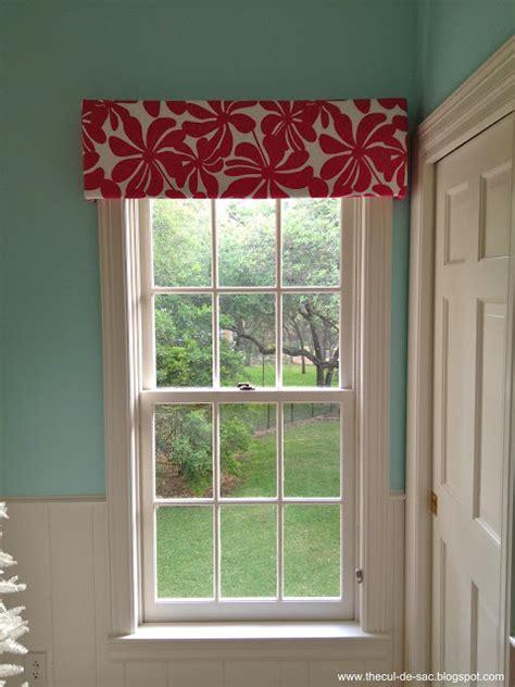 No Sew Cornice Window Treatments The Cul De Sac Playroom In Progress
