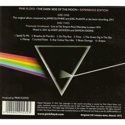 by name pink floyd roio database homepage pink floyd dark side of the moon cd www imgkid com the