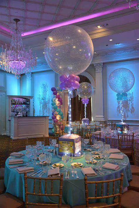 Photo Cube Centerpieces Balloon Artistry Themed Centerpieces