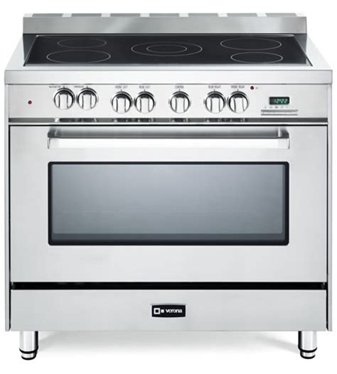 Oven Verona 36 quot electric single oven range verona appliances