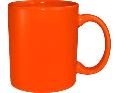 Orange Coffee Mug   Color: Orange   Pinterest