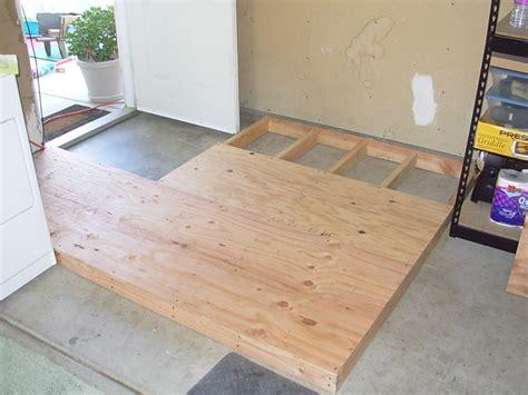 Raised Garage Floor raised garage floor home flooring ideas