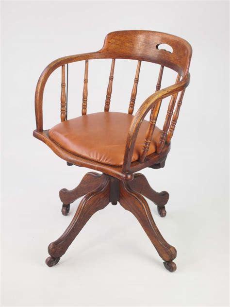 vintage swivel chair uk antique edwardian oak swivel chair vintage office desk