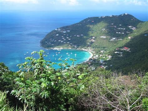 garden bay cottages tortola garden bay from stouts lookout bar picture of