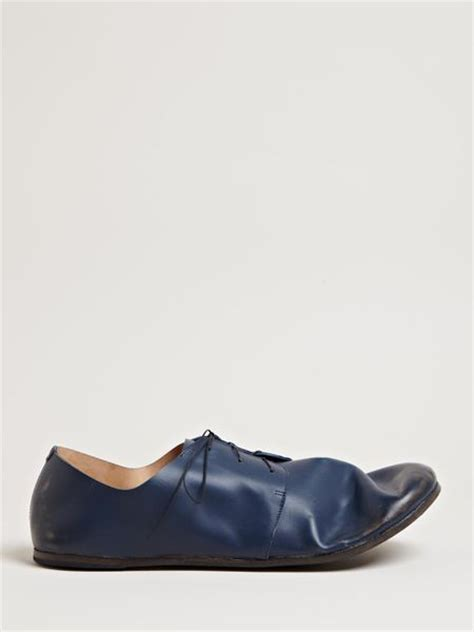 marsell shoes marsell mens ambo shoes in for blue lyst