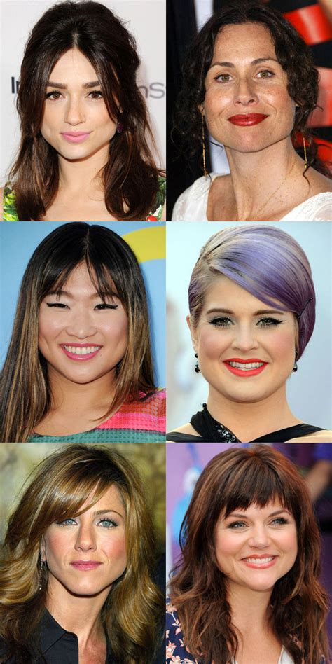 before and after pics of triangle face hairstyles short hairstyles for triangular shaped faces hair