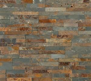 Mosaic Tile Kitchen Floor - stunning variagated split face slate 3d mosaic tiles