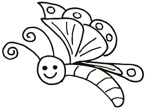 Free Printable Easy Coloring Pages Free Simple Butterflies Coloring Pages by Free Printable Easy Coloring Pages