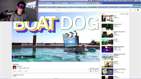 boat dog by markiplier reaction 64 quot boat dog quot by markiplier youtube