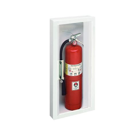 jl industries fire extinguisher cabinets jl panorama 1017c71 semi recessed 10 lbs fire