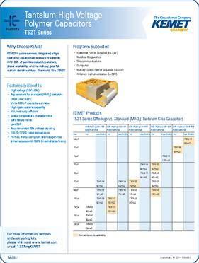 kemet capacitor datasheet kemet tantalum capacitor datasheet 28 images t350b225k025at kemet capacitors digikey