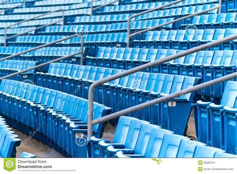 stadium seating stock image image  horizontal bench