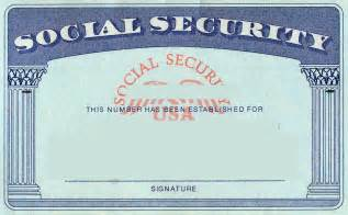 Social Security Card Template by Social Security Card Template Doliquid