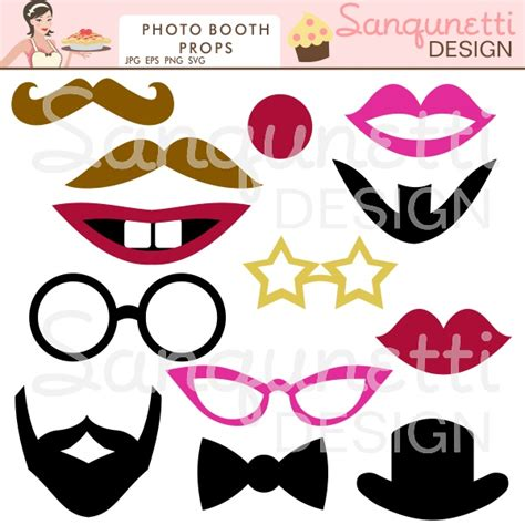 photo booth props diy and free printable 17 best images about diy photo booth props on pinterest