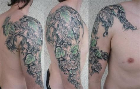 vine sleeve tattoo designs 28 vine tattoos for