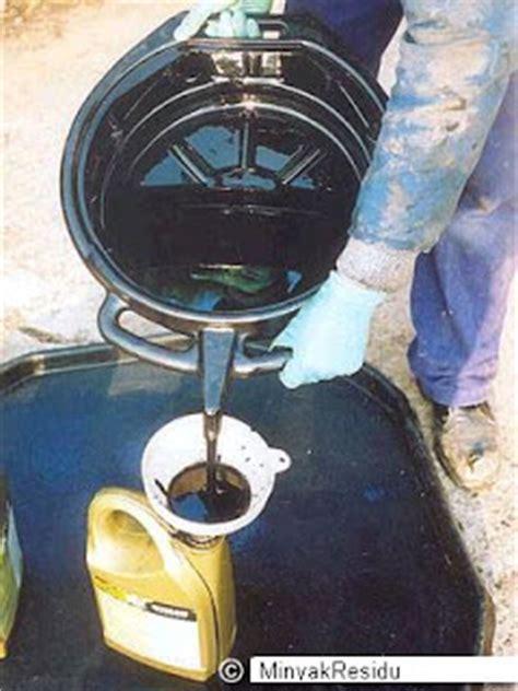 Solar Kinclong minyak residu