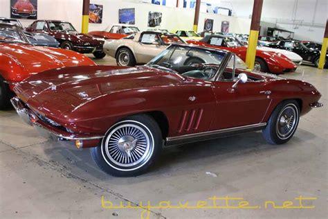 1966 corvette convertible for sale 1966 corvette convertible for sale at buyavette 174 atlanta