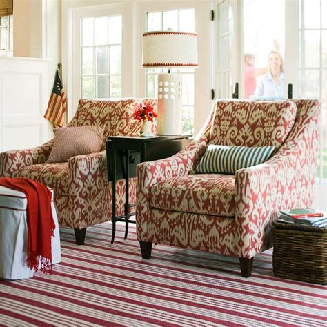living room with red accents 15 red living room design ideas