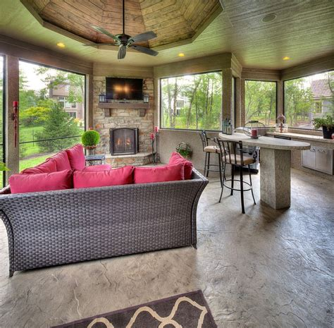 sunroom with fireplace embracing warmth 25 mediterranean inspired sunrooms for a